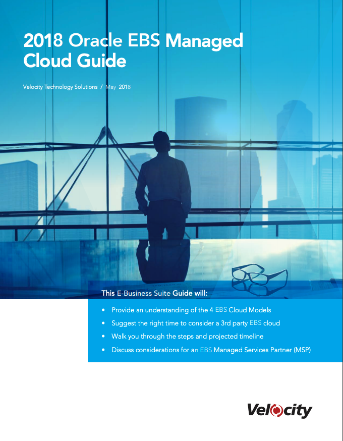 Oracle EBS Managed Cloud Guide