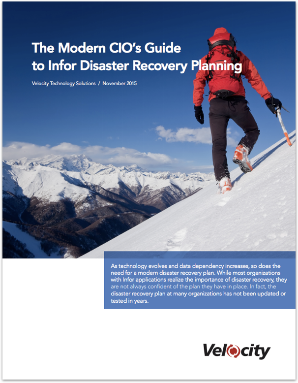 The Moden CIOs guide to Infor Disaster Recovery (1)